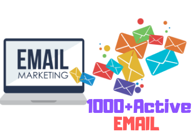I Will Find Niche Targeted 1000+ Active Email List For Email Marketing