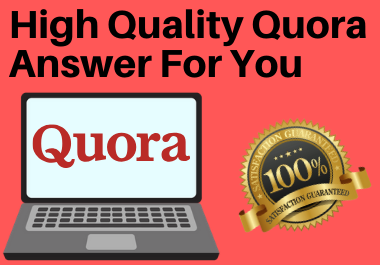 Promote your Website by 5 Quora Answer with Unique Article
