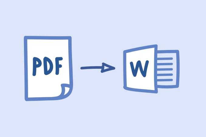 I will convert your pdf documents to word format