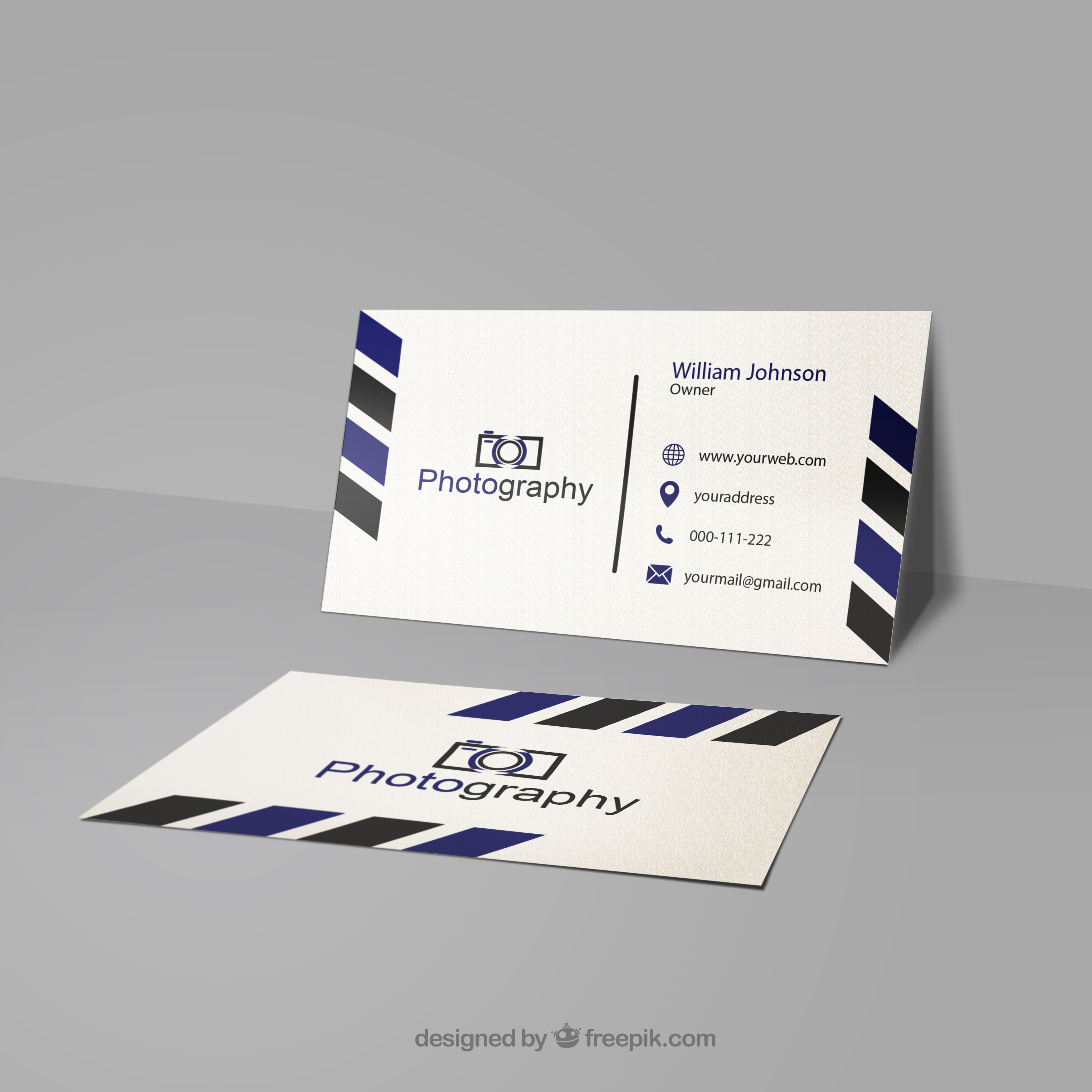 I will design creative and unique business card double sided