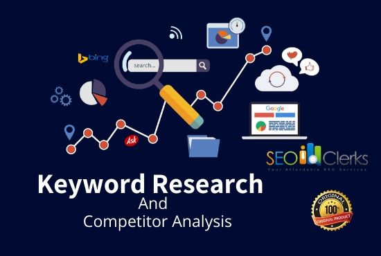 Top 30 Keyword Research And Competitor Analysis for your Niche Relevant