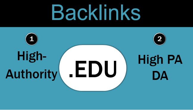 Get 150 .edu High-Quality Backlinks
