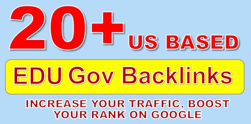 Get US-based PR9-4 20+ EDU. GOV High Authority Backlinks
