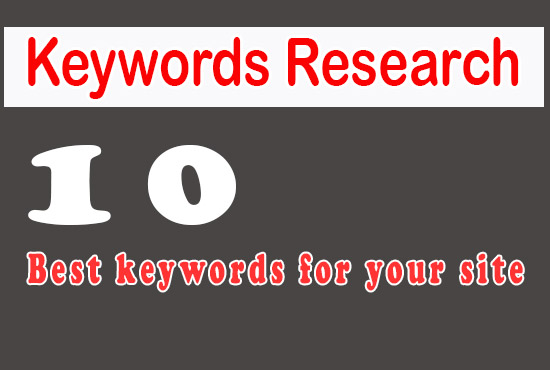 Get niche relevant SEO based keyword research