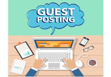 Publish 4 Guest Post on HQ DA70+ websites