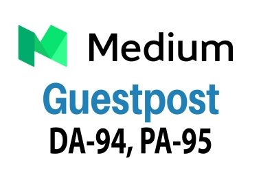 I Will Write & Publish Your Guest Post Backlinks on Medium. Com