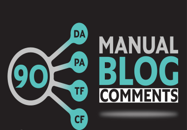 I Will Do 25 High Quality Blog Comments Backlinks On High DA,  PA Sites with live links.