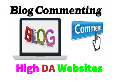 I Will Do 100 High Quality Backlinks & Blog Comments On High DA Sites.