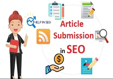 Article submission 15 best quality backlinks