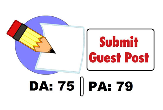 write and publish a guest post on 75 plus da site