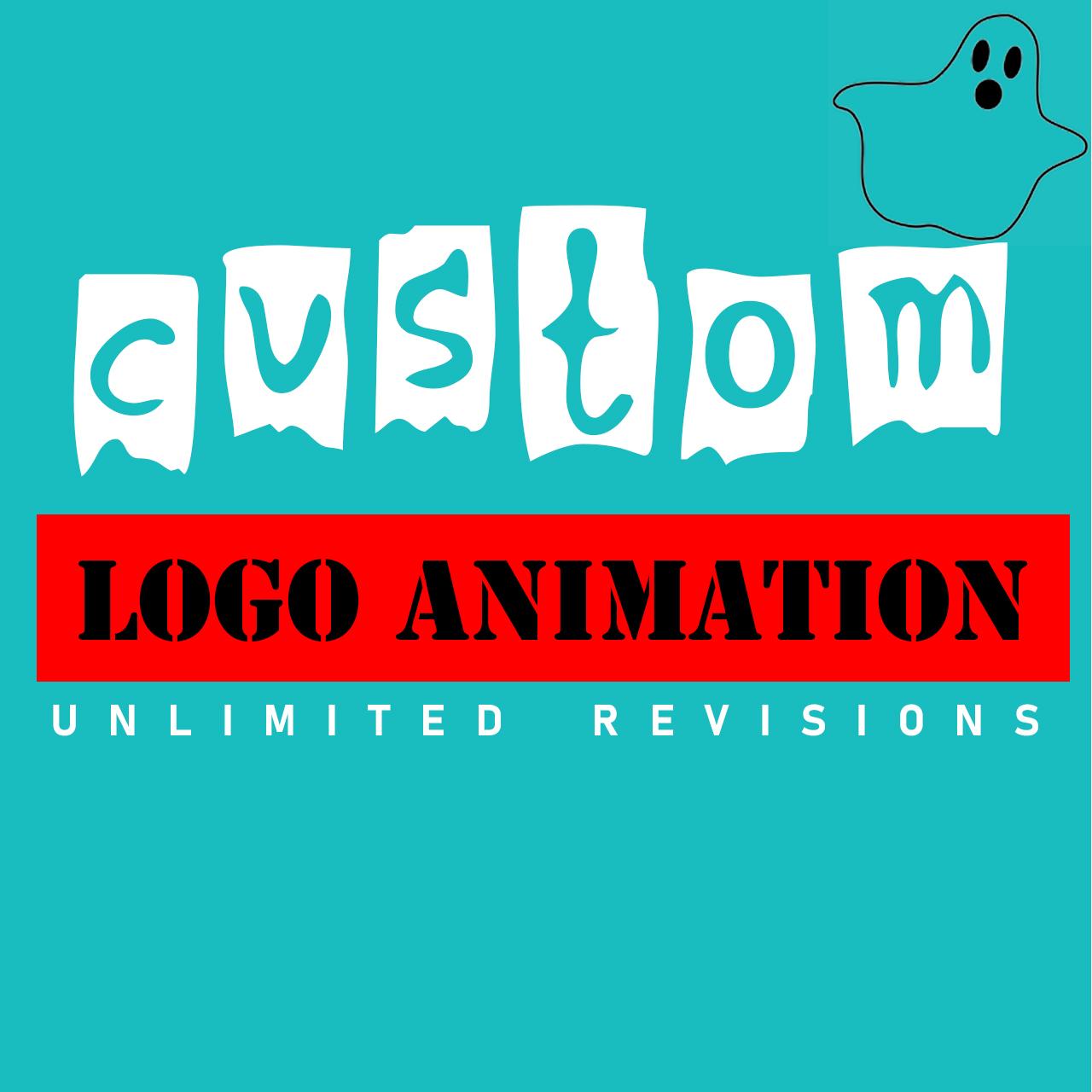 custom logo animation, intro and outro