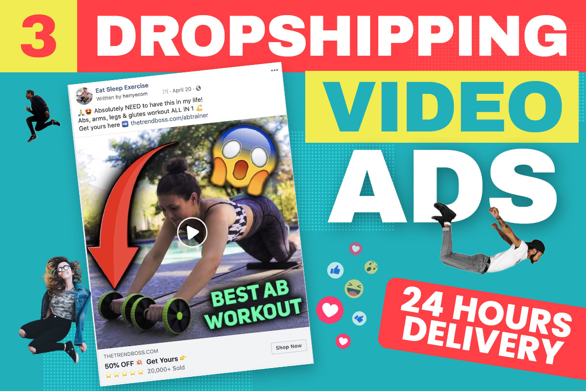 I will make stunning facebook video ads in under 24 hours