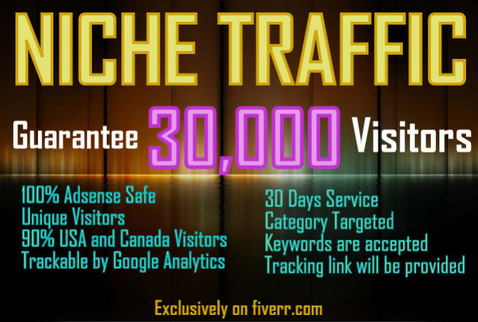 I will send 30,000 keyword targeted SEO search engine traffic