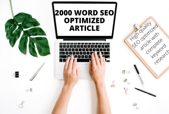 I will write 2000 words original and effective SEO article, blog post or websites