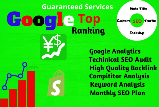 On-page and Off-page Seo Google Top Ranking