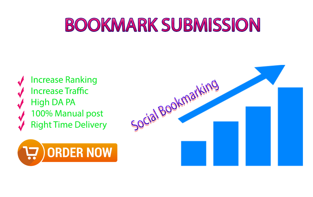 Create 35 social bookmarking for ranking your website