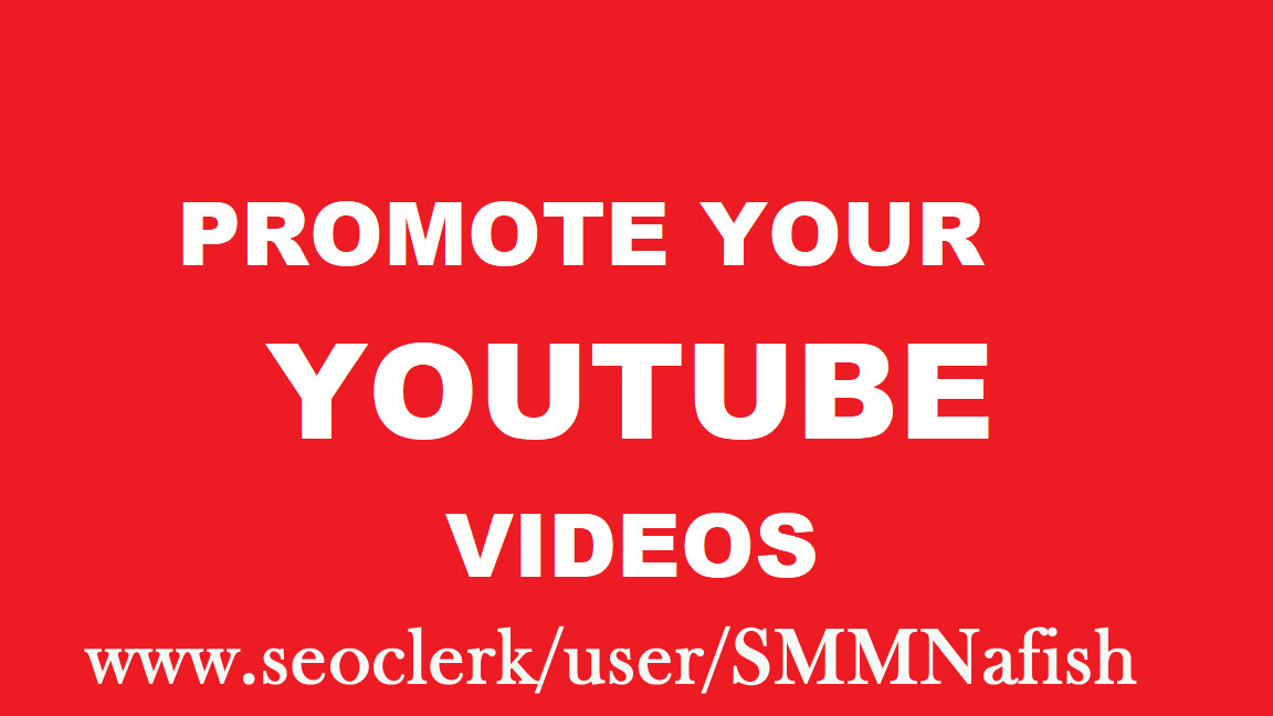 Get YouTube Real Promotion & Social Media Marketing Fast