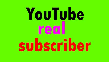 Get YouTube Real Non Drop Permanent SUB Very Fast