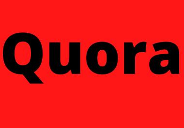 Best 6 HQ Quora backlink on your website URL