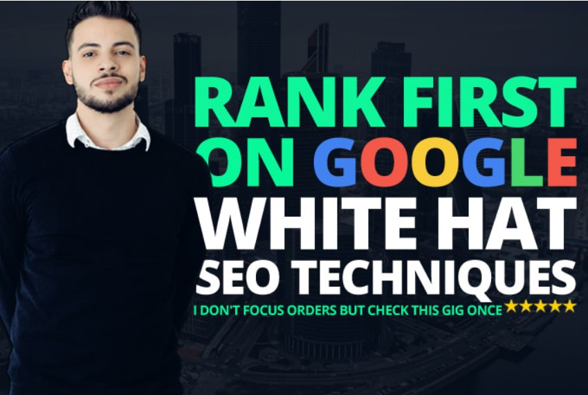 Rank your Website Google 1st using White Hat trusted SEO backlinks