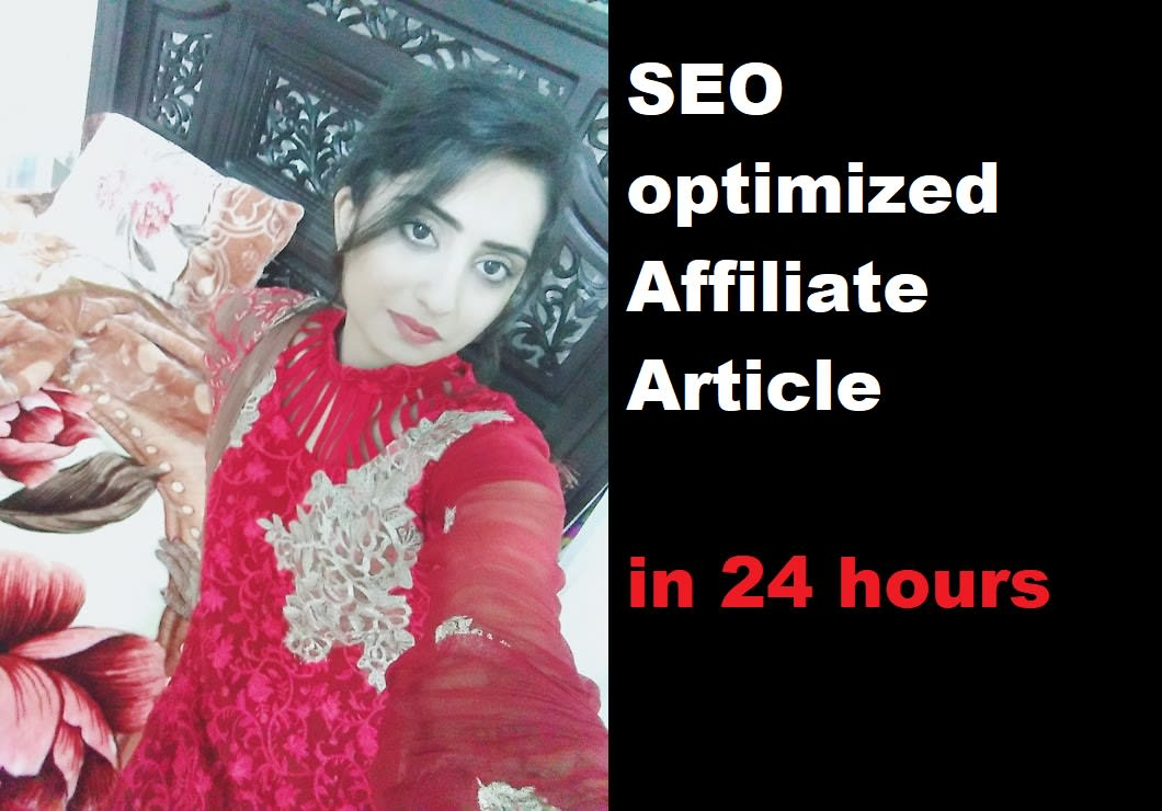 I will write powerful content for your affiliate site within a day