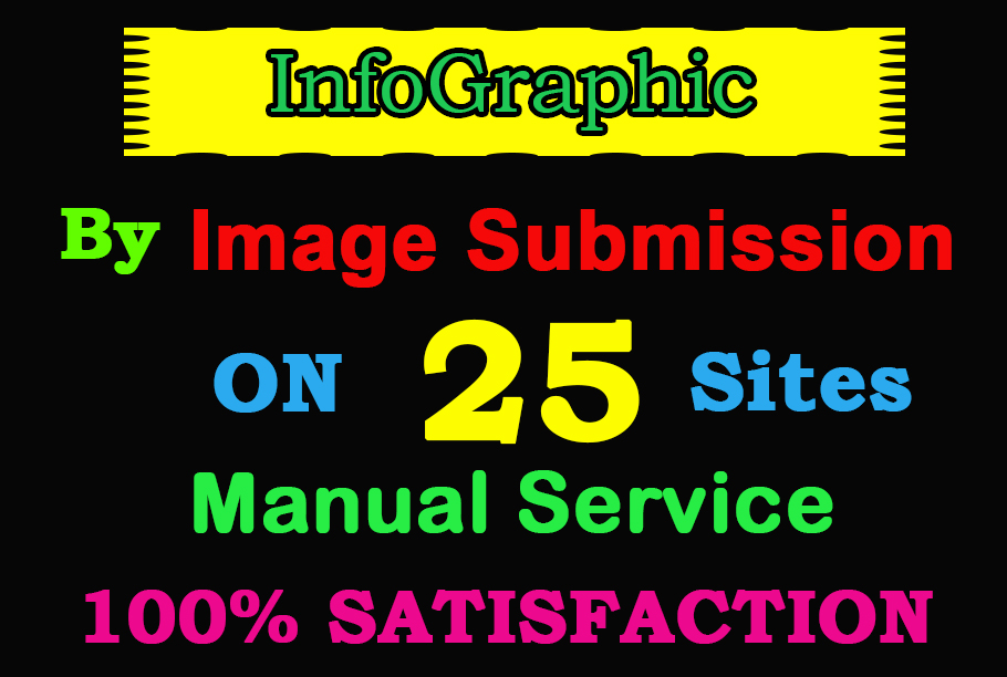 I will do infographic or image submission on high DA image sharing sites