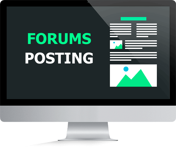 Available 8 niche post forum for your website