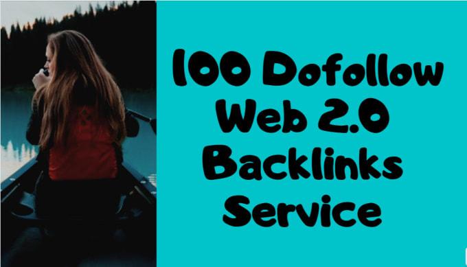 I will provide 100 dofollow web 2.0 blogs SEO backlinks service