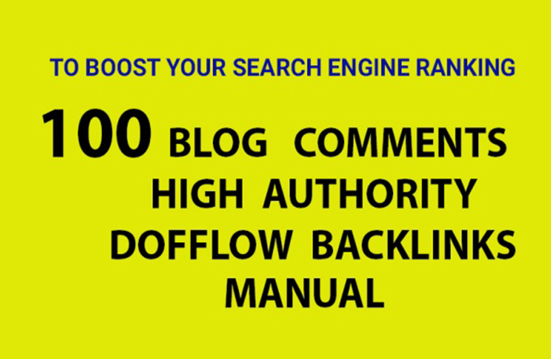 I will do high quality 100 dofollow backlinks website SEO service
