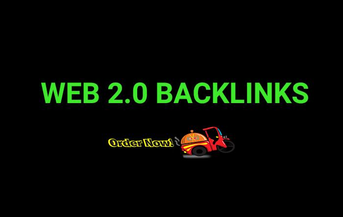 I will do SEO with High Quality 40 Web 2.0 blogs backlinks