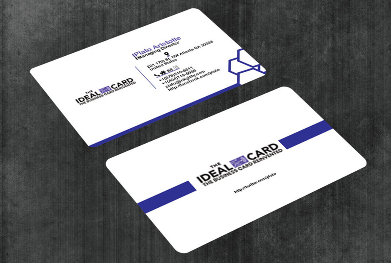 Design professional business cards for your business within 24 Hrs