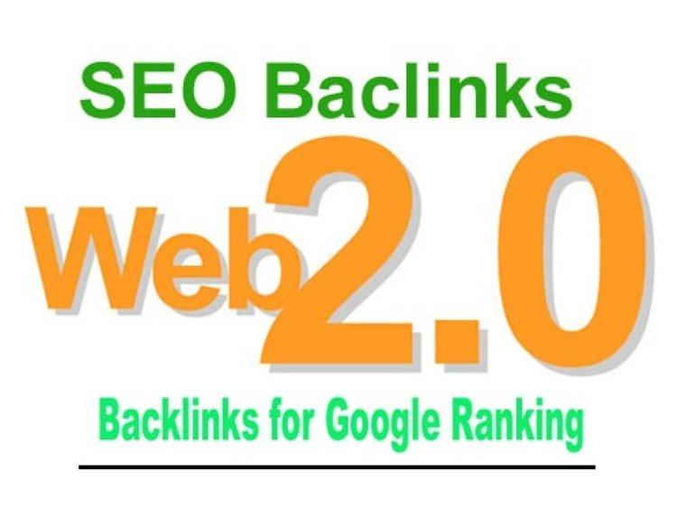 I will create 15 high authority web 2.0 backlinks