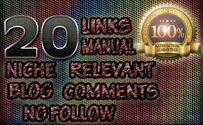 I will provide 20 niche relevant forum backlinks