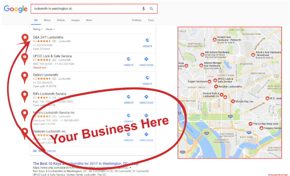 I Will Manually Your Location Google Map point For 400 Local SEO Citation Power Up Google Map