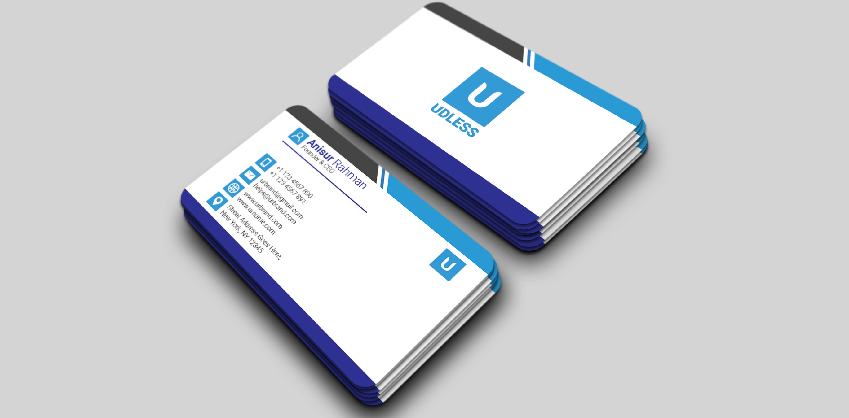 Eye-Catching Business/Visiting Card Design