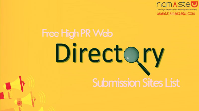 Directory Submissions -500 Directories submit you website address