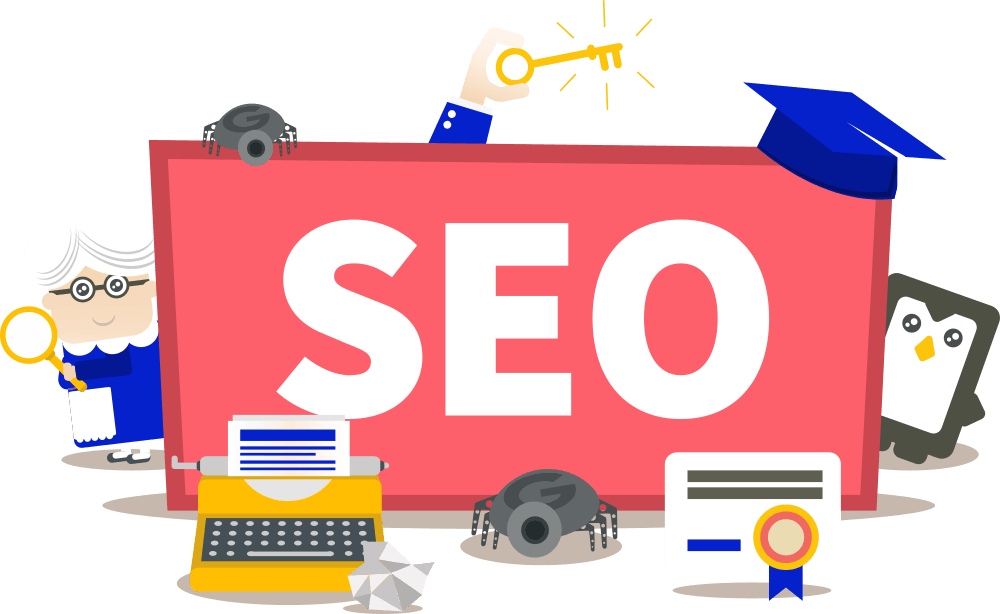 Handles SEO to optimise full site