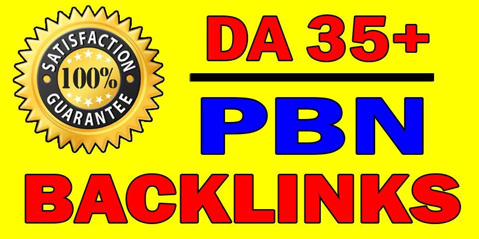 Build 15 High DA Dofollow Permanent PBN Backlinks