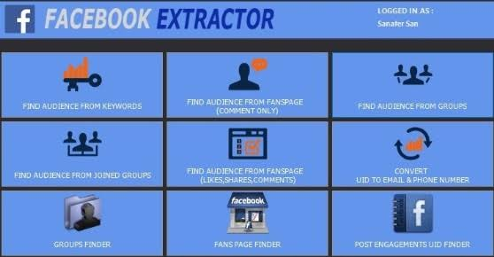 I will Scrape your targeted facebook pages