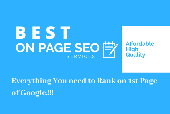 Complete On-Page SEO Optimization that will Boost your Rankings in Google