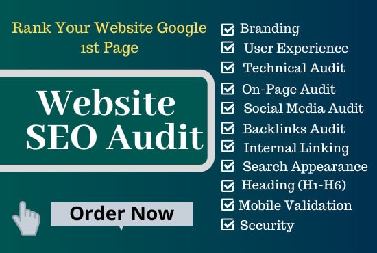 In depth Website SEO Audit Report with Action Plan + Competitors Analysis