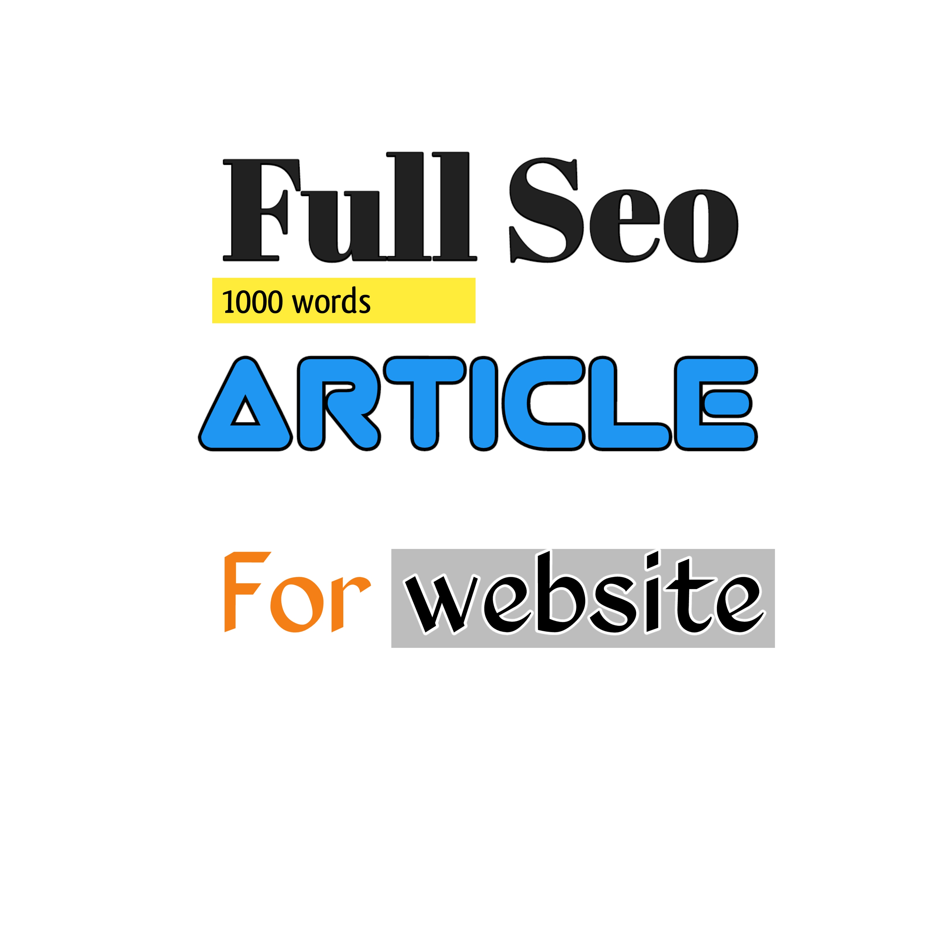 Write ranking content for blogg website anytype categories