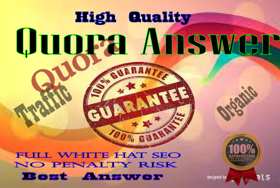 Promote Your Website 10 high Quality Quora answer