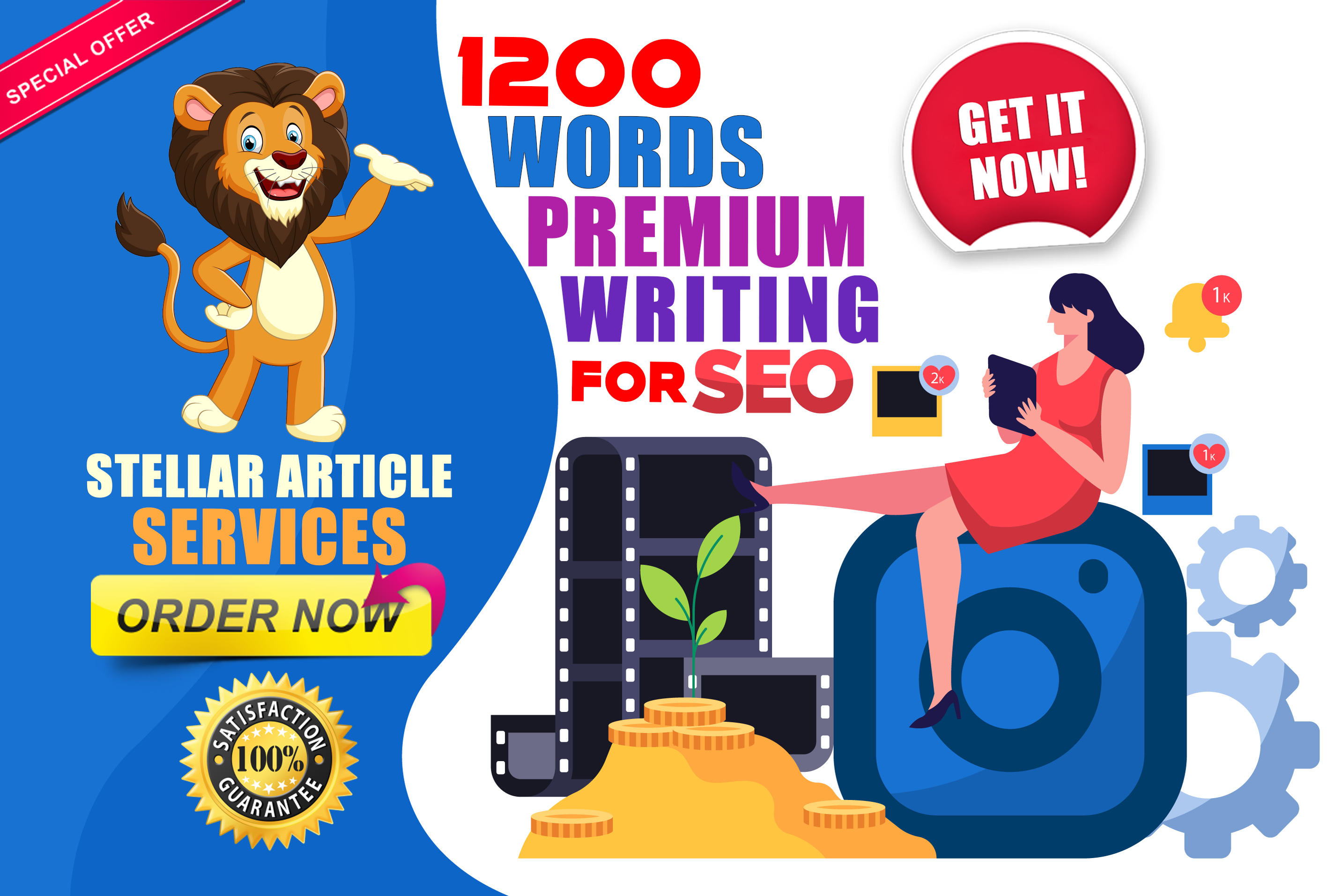 Write a high quality stellar SEO article for your blog or website