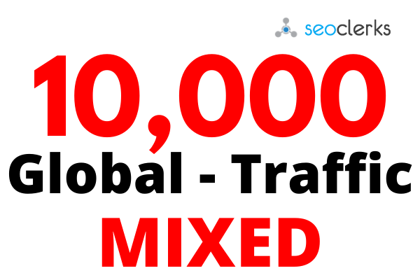 Super-targeted Complete 10k Human Targeted web traffic to your website or blog