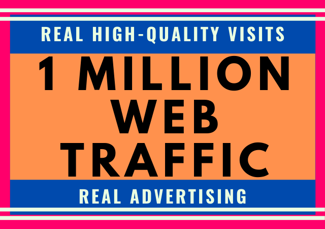 1 Million Website Traffic from Advertising and Promotion