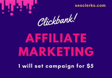 Clickbank Affiliate Marketing on your Clickbank Link