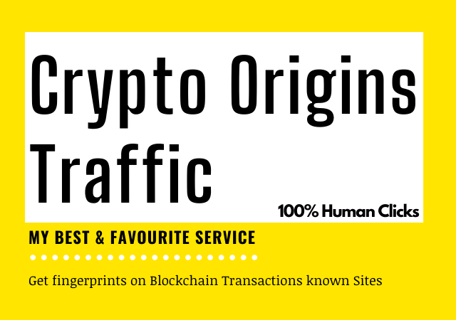 Get Cryptocurrency Niche Traffic service