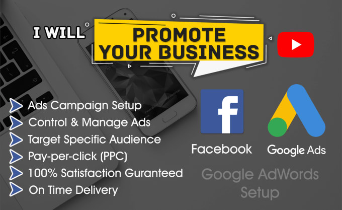 I will setup and manage google ads PPC facebook campaign
