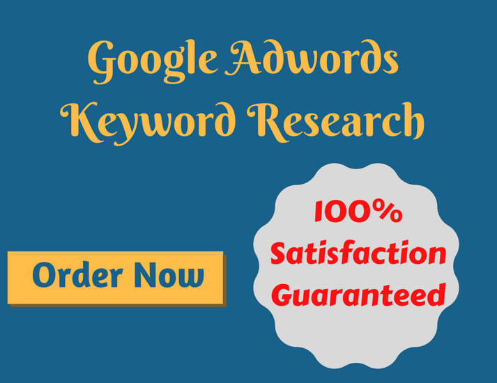 Unlimited Traffic keyword research for google ads PPC campaign twitter Facebook Pinterest linkedin